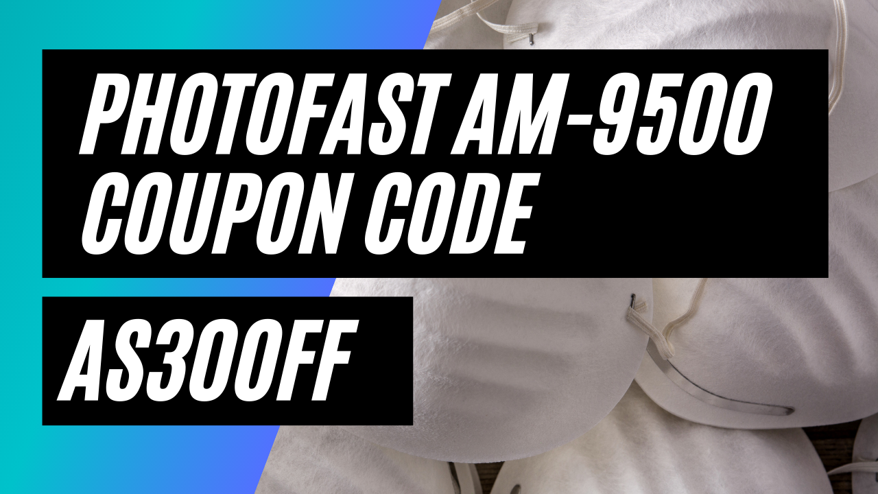 PhotoFast AM-9500 Coupon Code