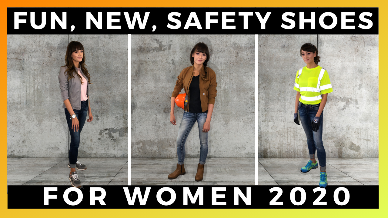 The Best Safety Shoes for Women 2020