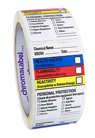 hazard communication program labels