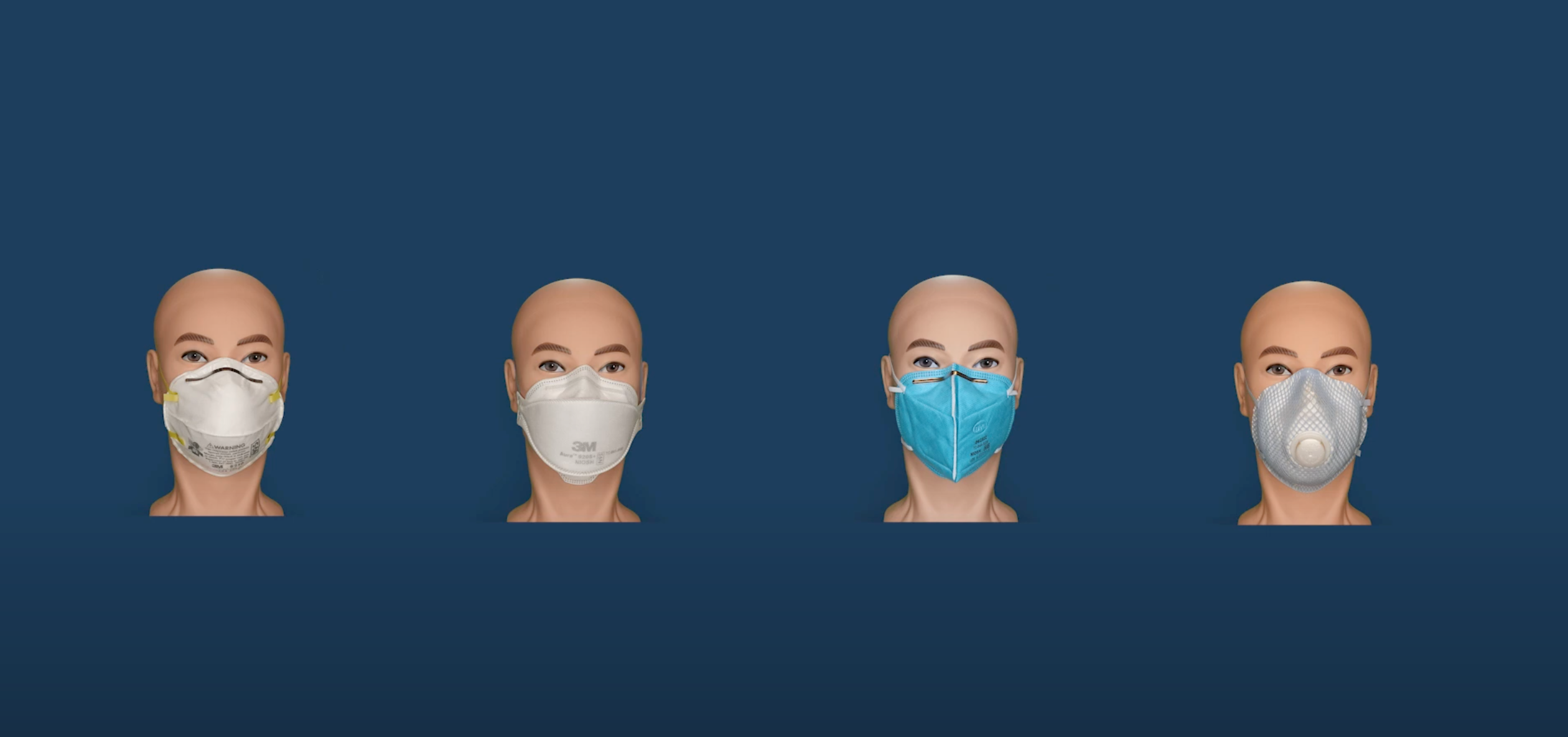 N95's compared to other masks