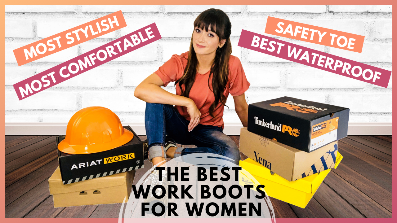 best work boots for women article