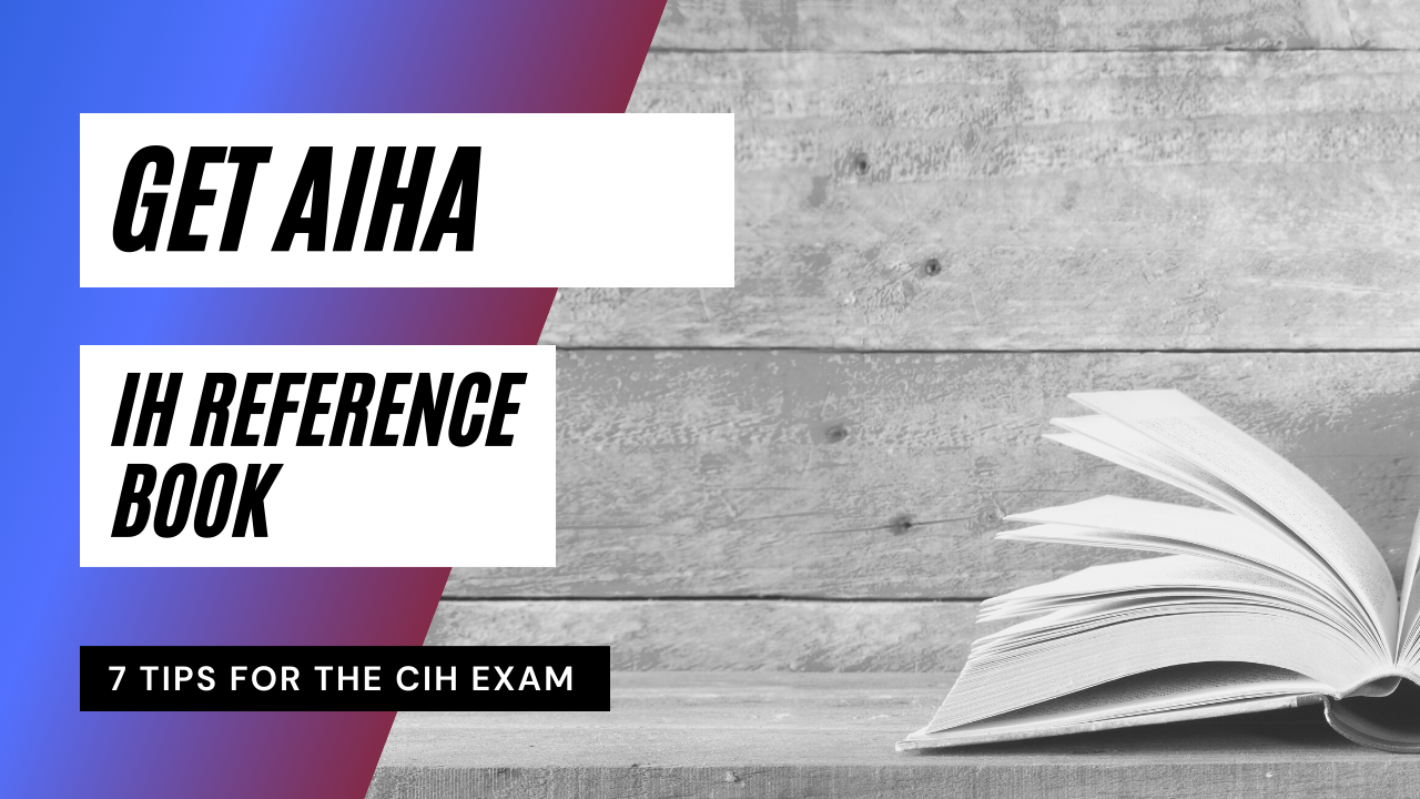 tips to help you pass the cih exam