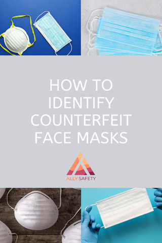 counterfeit face masks