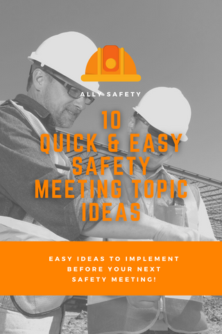 safety meeting topics