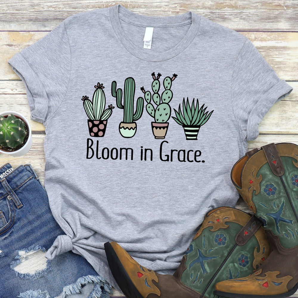Bloom in Grace Tee