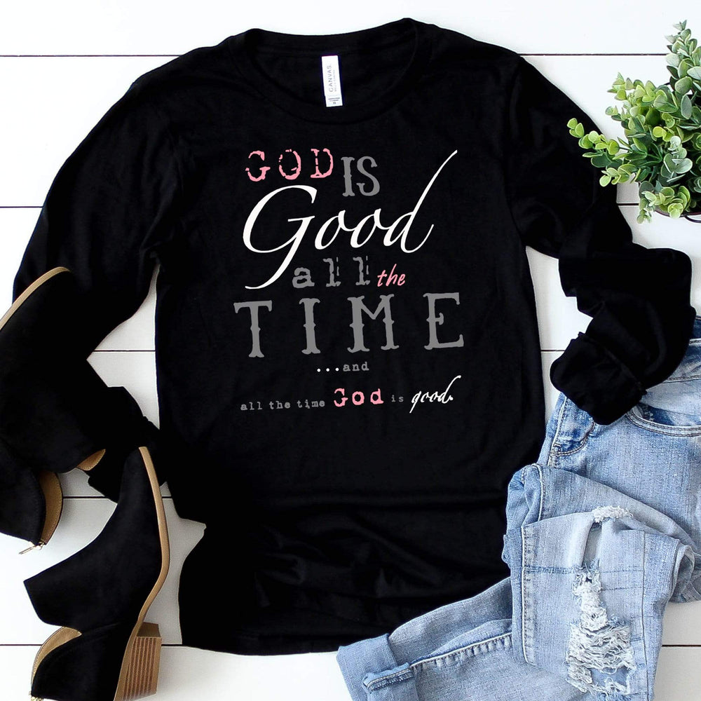 God is Good Long Sleeve Tee