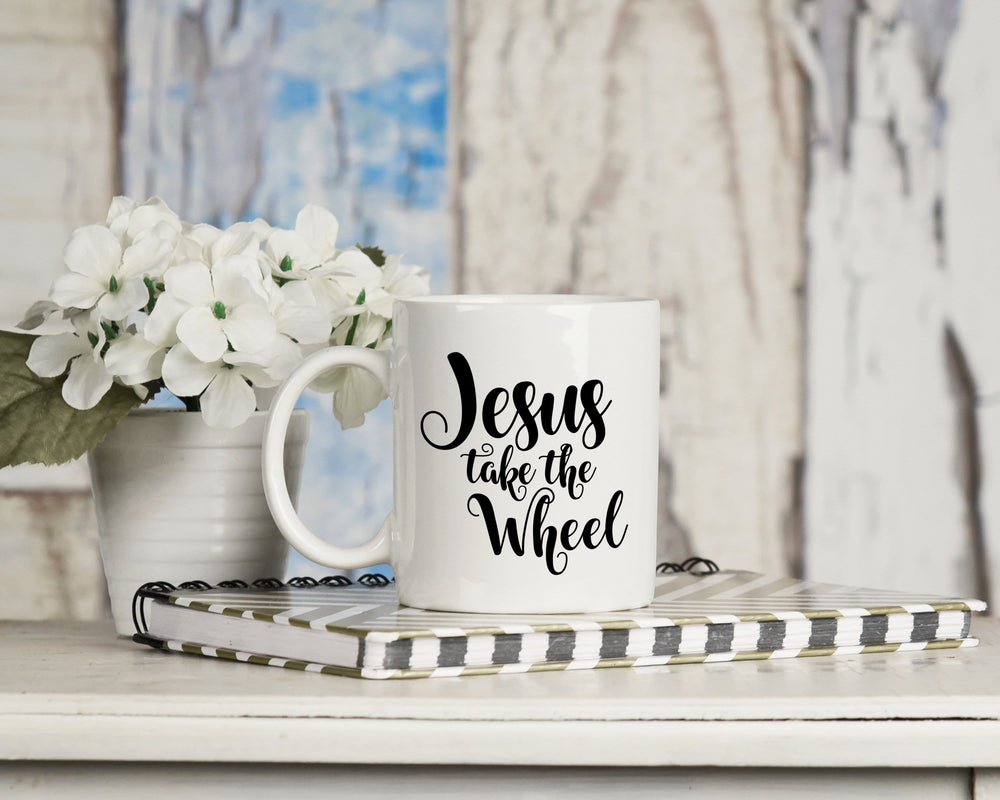 Jesus Take The Wheels Mug 11oz