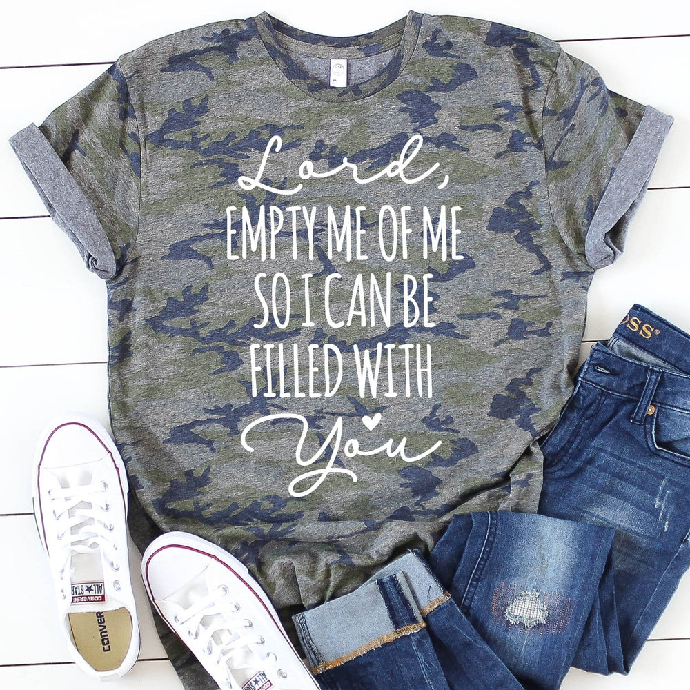 Lord Empty Me of Me Tee