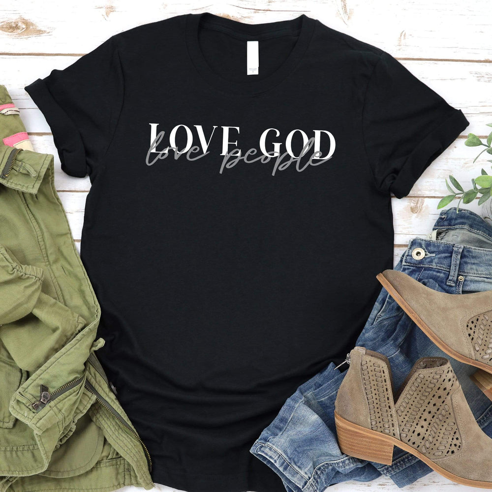 Love God Love People Tee