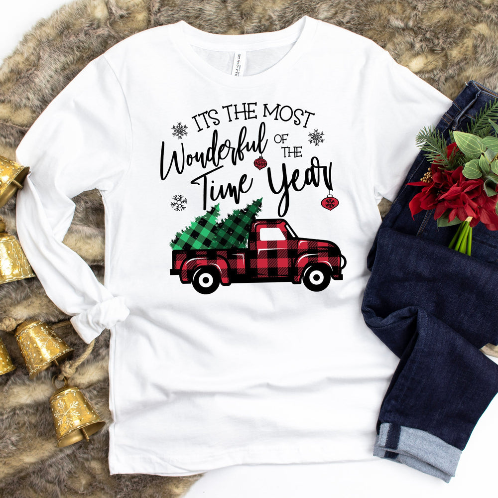 Wonderful Time Truck Long Sleeve Tee