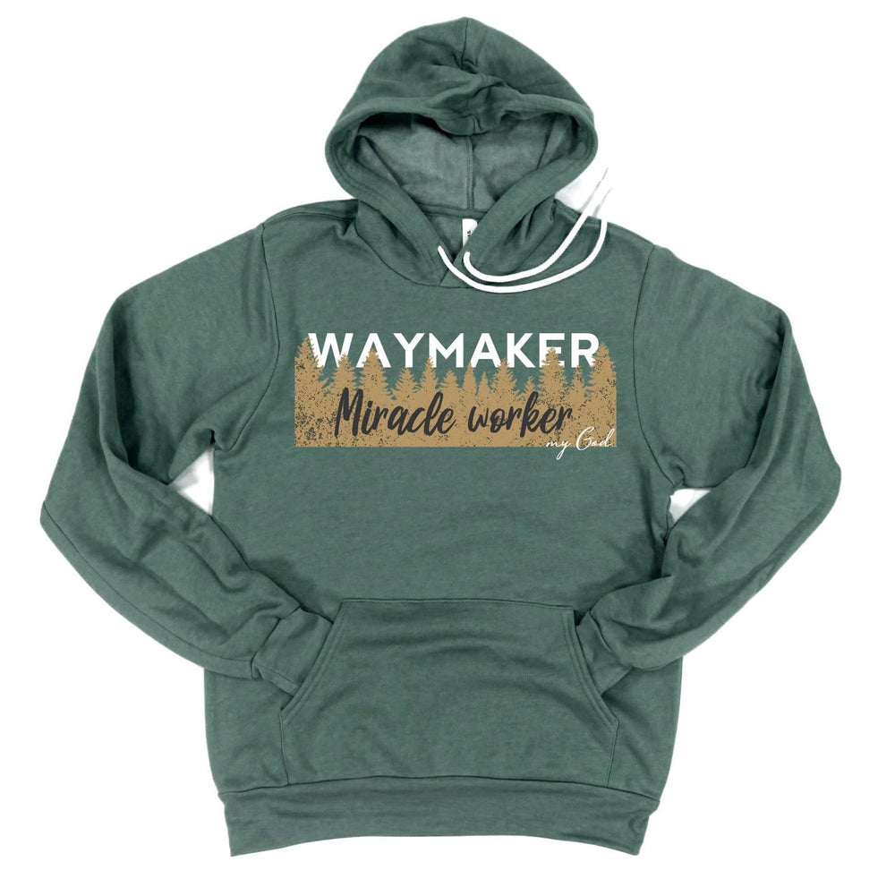 Way Maker, Miracle Worker Hoodie