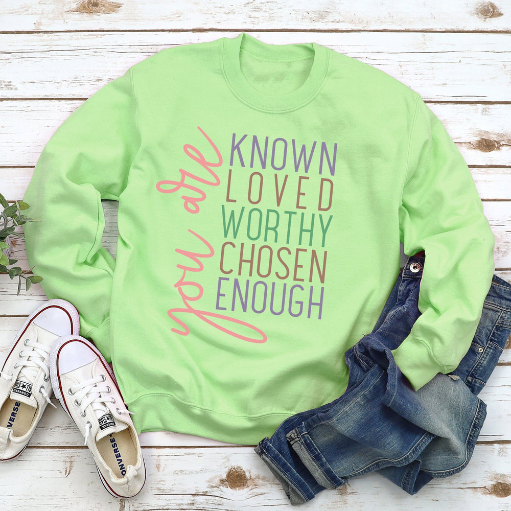 You Are Known Sweatshirt