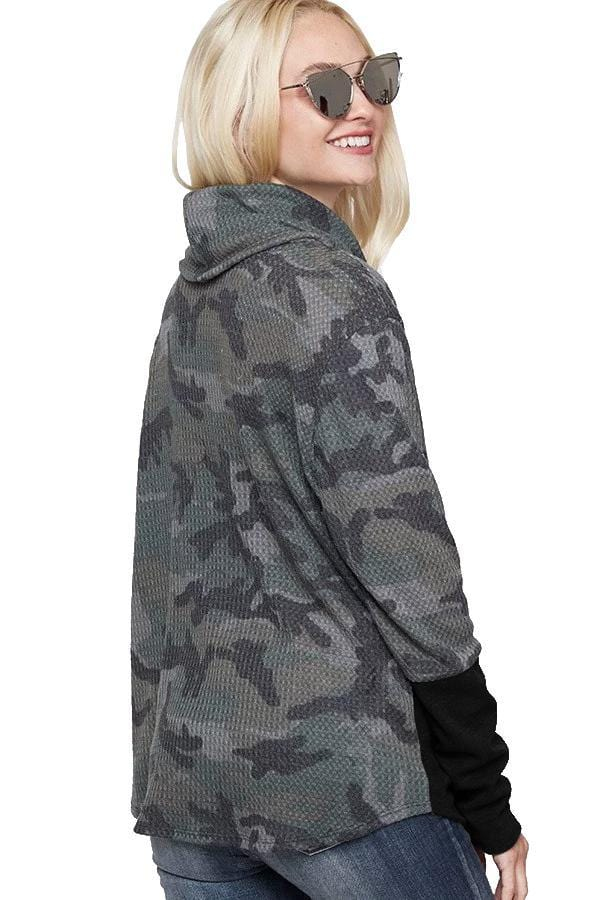 Adult Hoodie - Embroidered Faith Camo Pullover