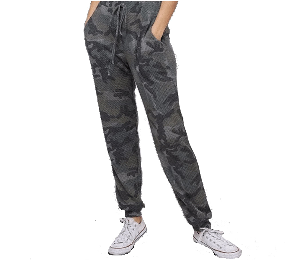 Camo Thermal Pants