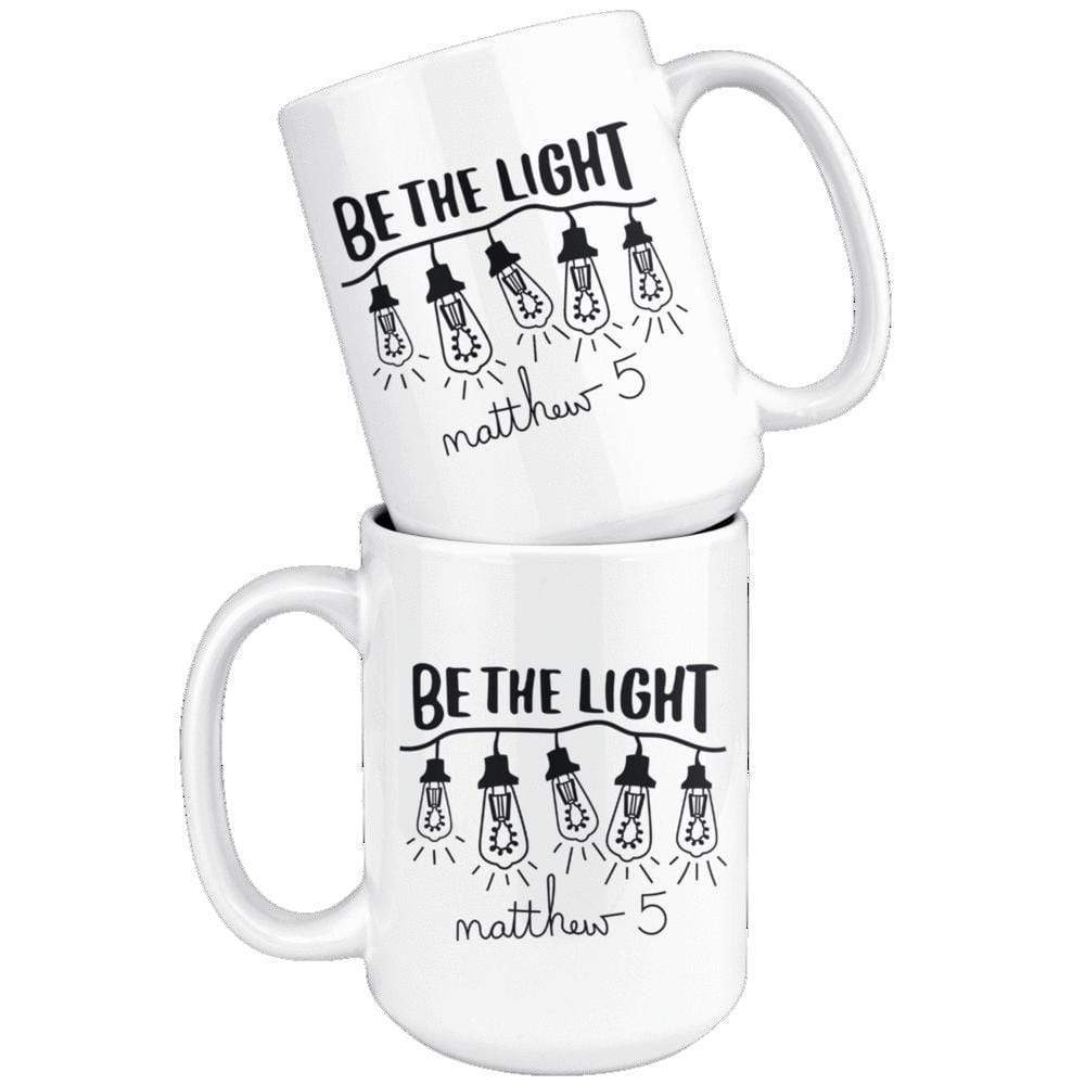 Drinkware - Be The Light Matthew 5 Mug 15oz