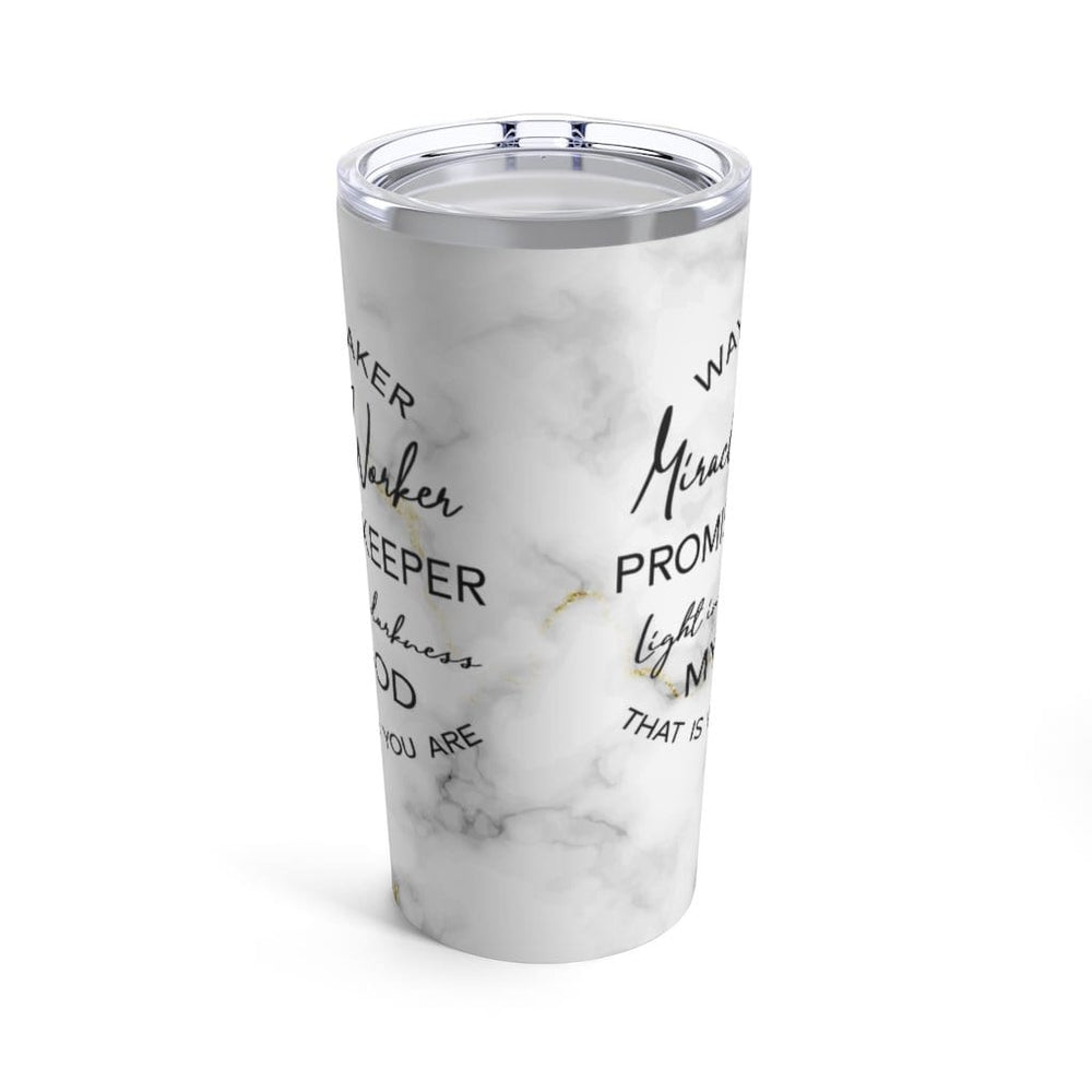 Way Maker Marble Tumbler 20oz