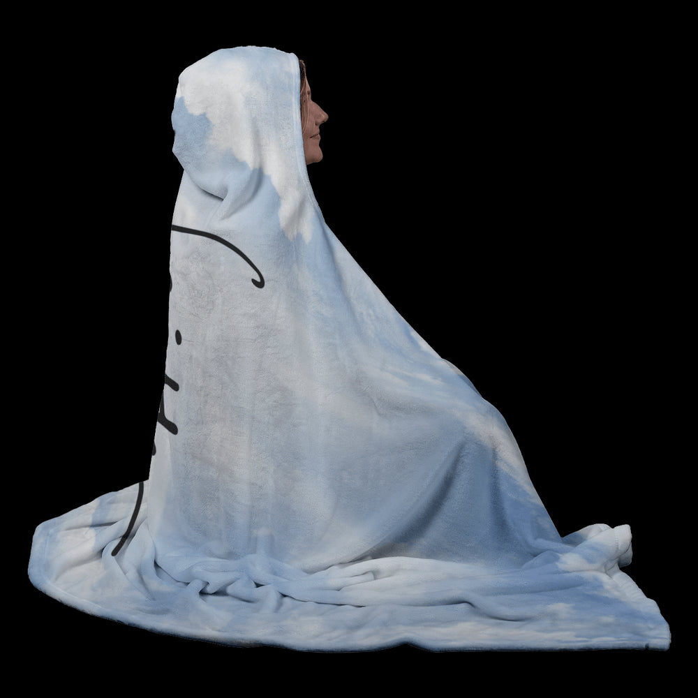 Hooded Blanket - Faith Cloud Hooded Blanket