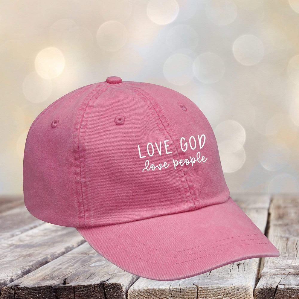 Love God Love People Hat