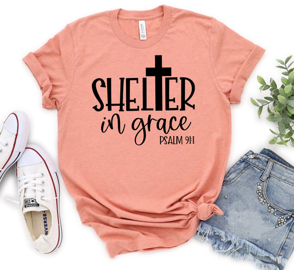 Shelter In Grace Tee