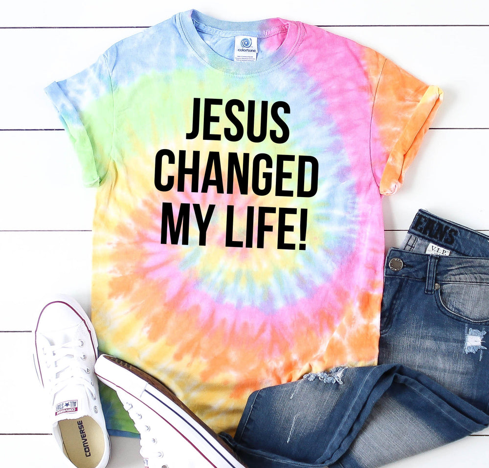 Jesus Changed My Life Tee