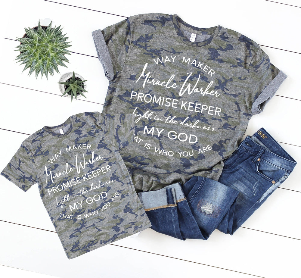 Way Maker Lyrics Youth & Toddler Tee