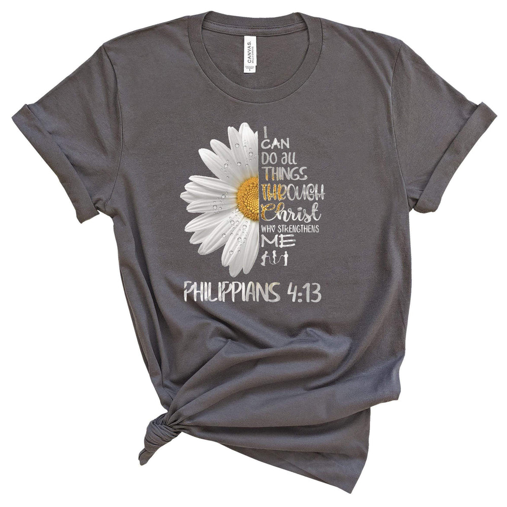 T-Shirt - I Can Do All Things Daisy Tee