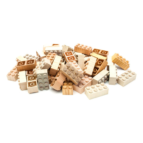 Wooden Interlocking Blocks