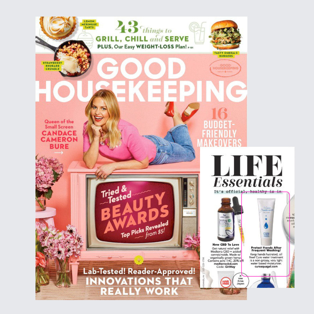 Cure Water Treatment was featured in Good Housekeeping magazine