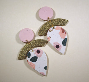 Becca Lynn Rose Drop Earrings