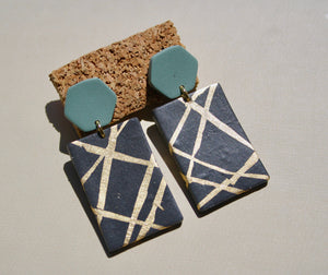 Lori Ann Block Earrings
