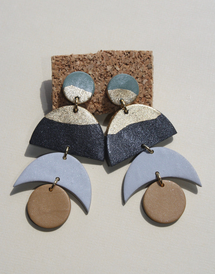 Lori Moon Drop Earrings
