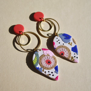 Ashley Rose Drop Earrings