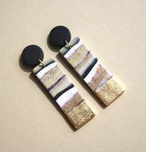 Kristen Elise Matchstick Drop Earrings