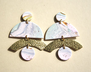 Kristen Elise Lotus Earrings