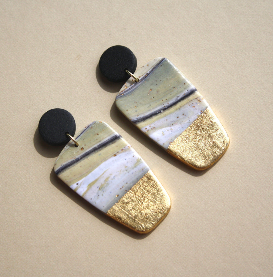 Kristen Elise Block Earrings