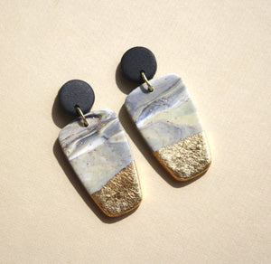 Kristen Elise Small Block Earrings