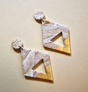 Rachael Diamond Drop Earrings