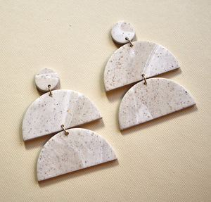 Rachael Large Stacks Earrings