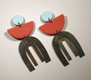 Sara Desert Drop Earrings
