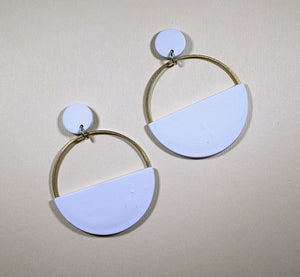 Tess Half Moon Hoops
