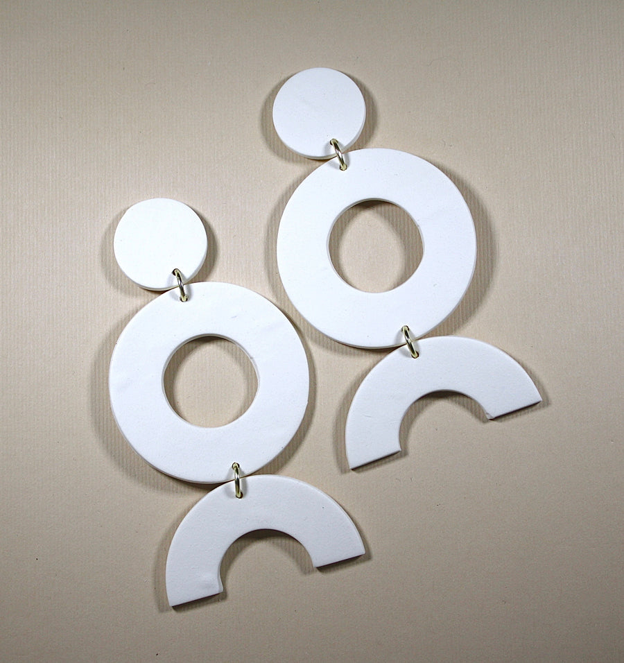 Ruth Large Disco Diva Earrings