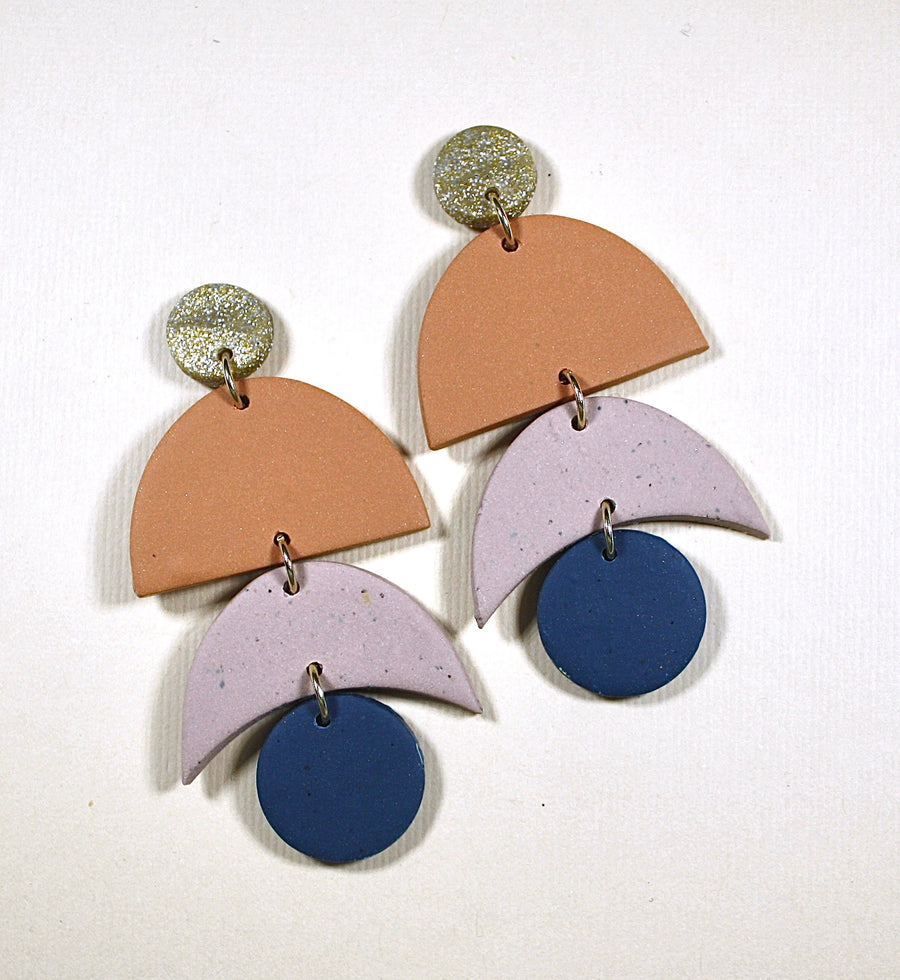 Georgia Moon Drop Earrings