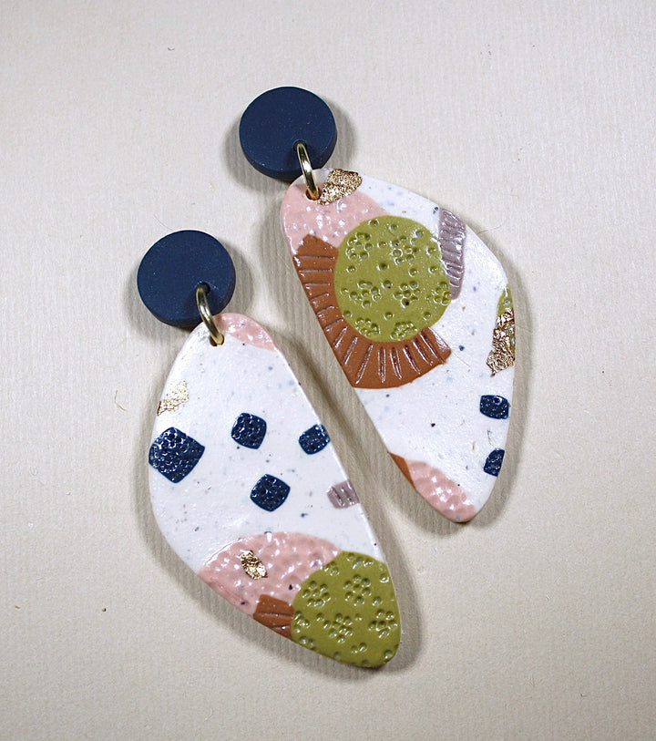 Georgia Pebble Drop Earrings