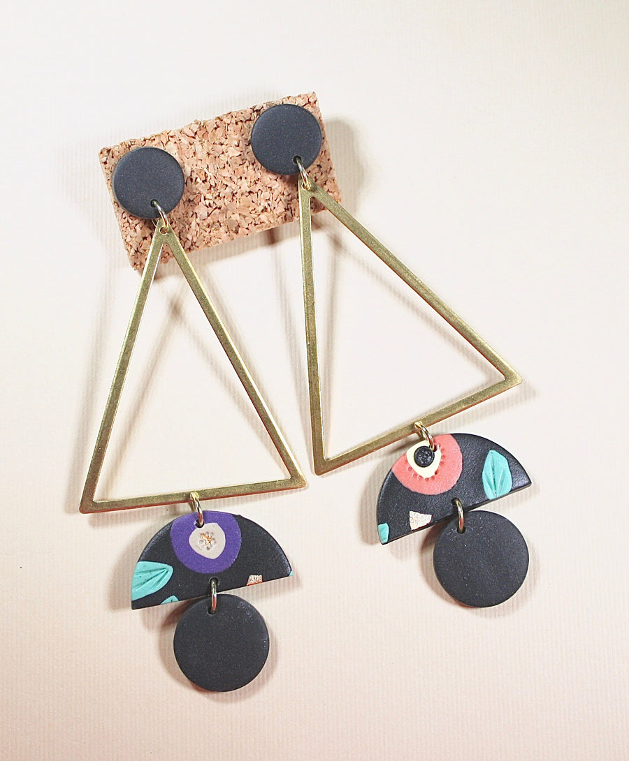Audrey Large Triangle Dangles