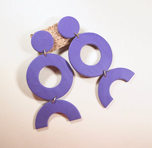 Audrey Disco Diva Earrings