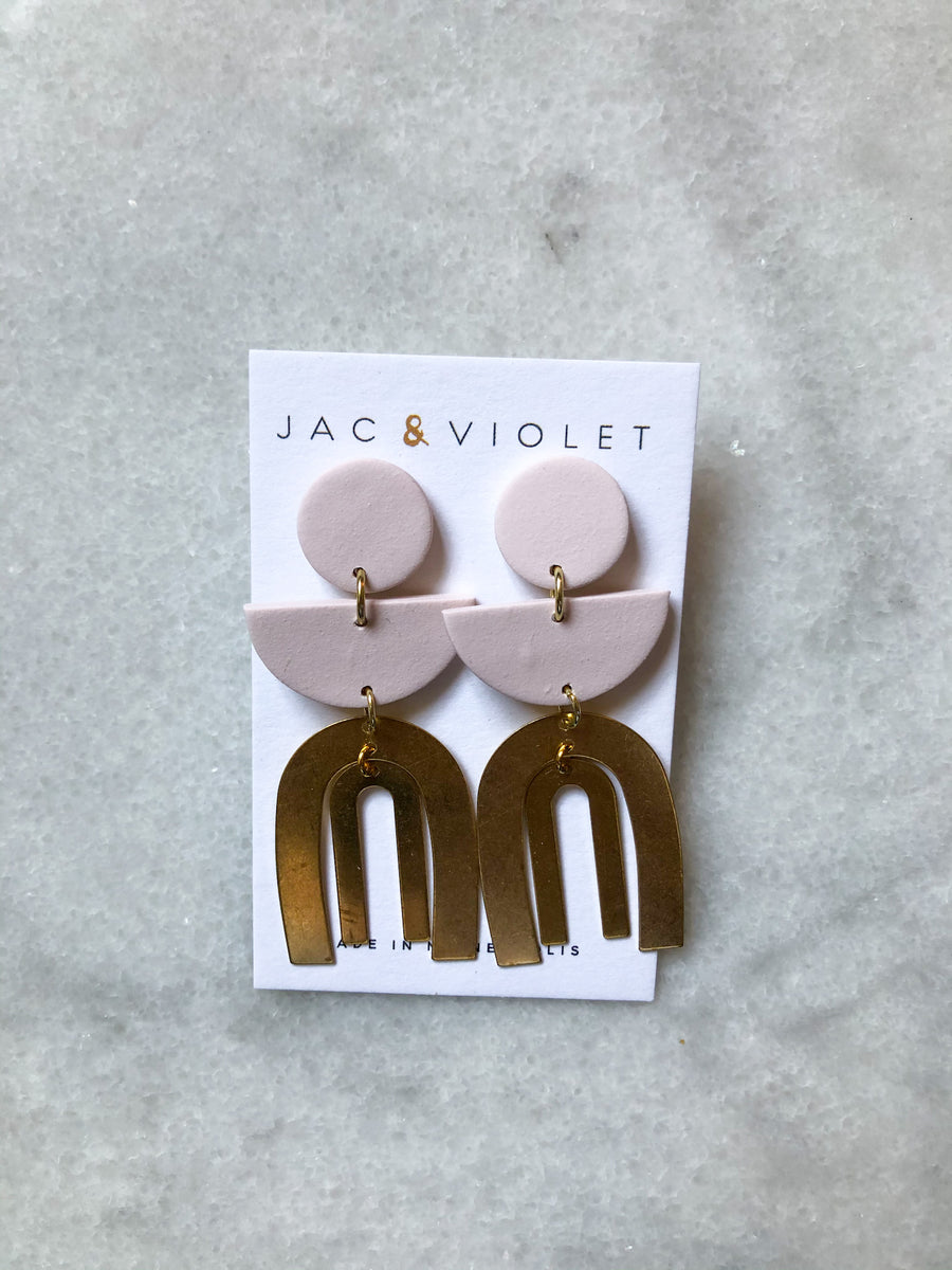 Michelle Desert Drop Earrings