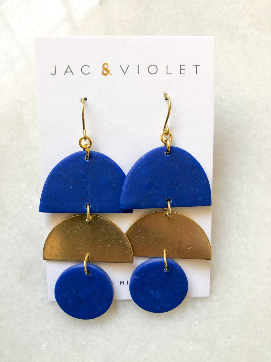 Michelle Dahlia Earrings