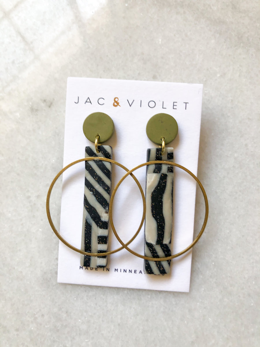 Michelle Marigold Earrings