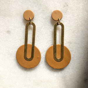 Ashtyn Art Deco Drop Earrings