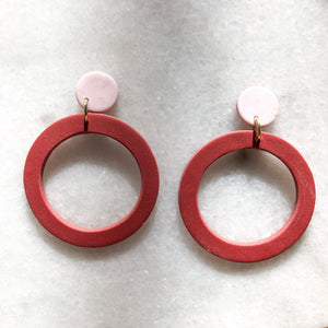 Ashtyn Zinnia Hoops